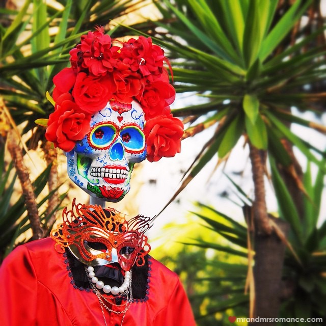 Mr & Mrs Romance - Insta Diary - 2 Day of the Dead