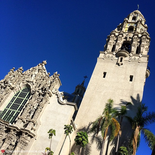 Mr & Mrs Romance - Insta Diary - 4 Mrs R hits Balboa Park and Museum of Man