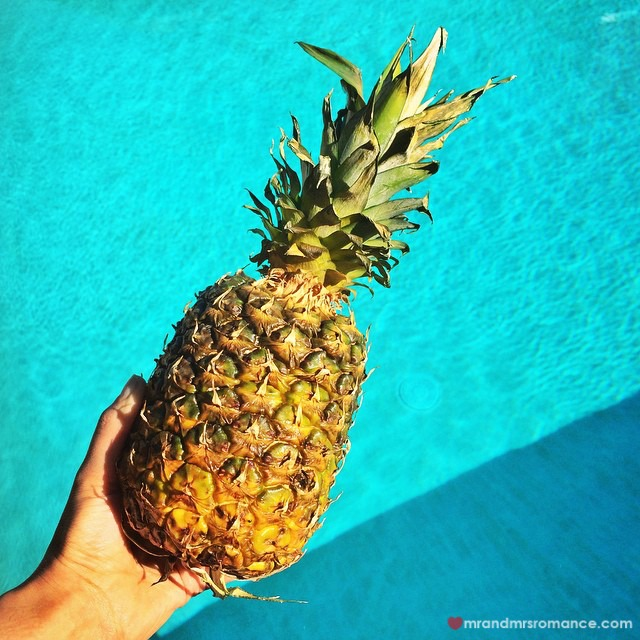 Mr & Mrs Romance - Insta Diary - 4 pineapple experiment