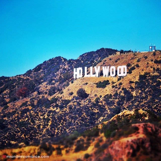 Mr & Mrs Romance - Insta Diary - 5 Hollywood sign
