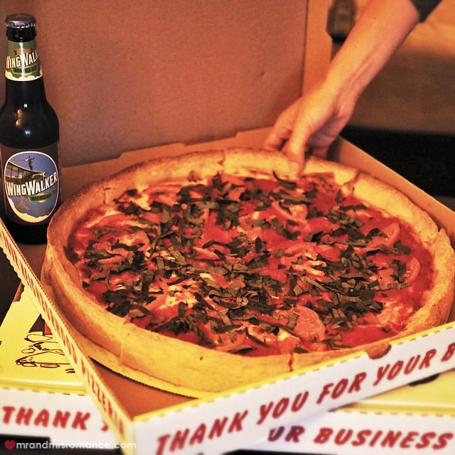 Mr & Mrs Romance - Insta Diary - 6 Chicago pizza in SD