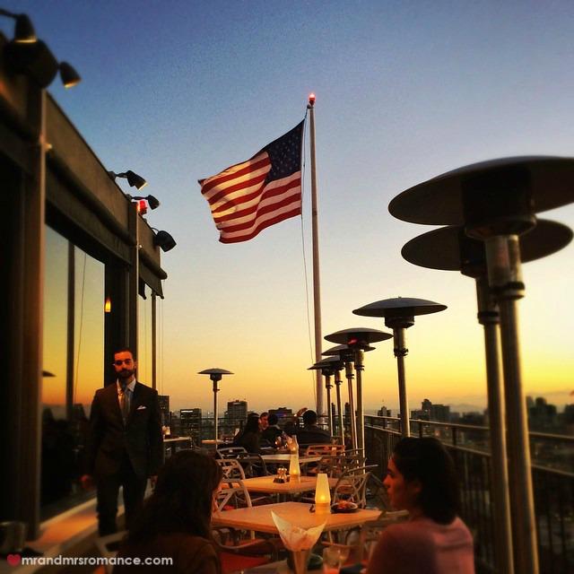 Mr & Mrs Romance - Insta Diary - 7 Mr A's at sunset