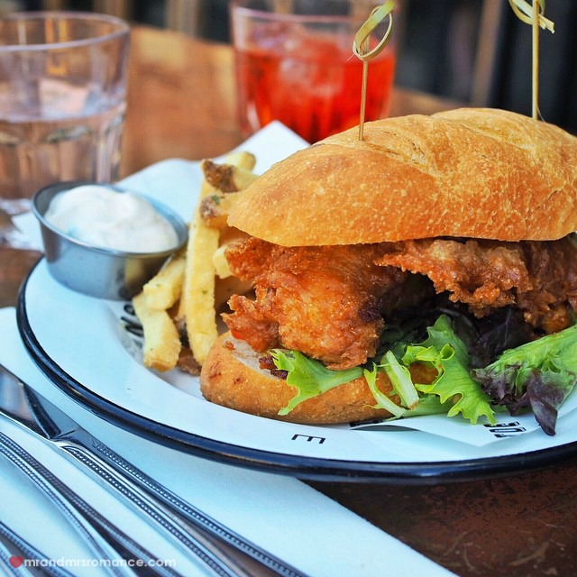 Mr & Mrs Romance - Insta Diary - 8 oyster poboy at Ironside