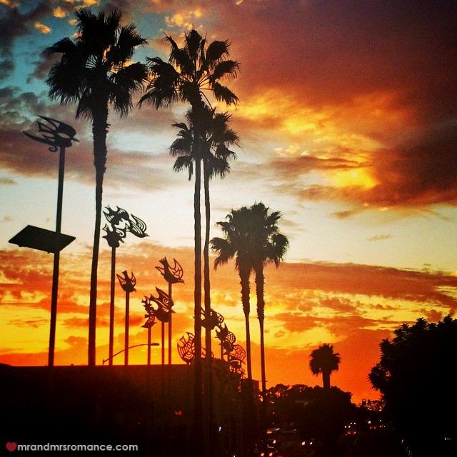 Mr & Mrs Romance - Insta Diary - 8 sunset over SD