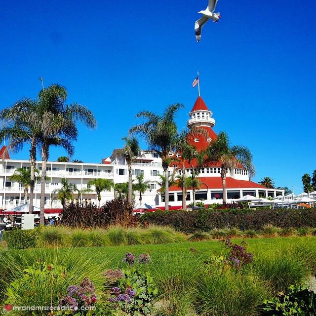 Mr & Mrs Romance - Insta Diary - 9 Hotel del Coronado