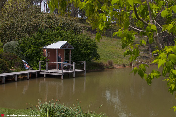 Mr and Mrs Romance - 7 reasons to visit Daylesford Victoria - Ellender winery boatshed