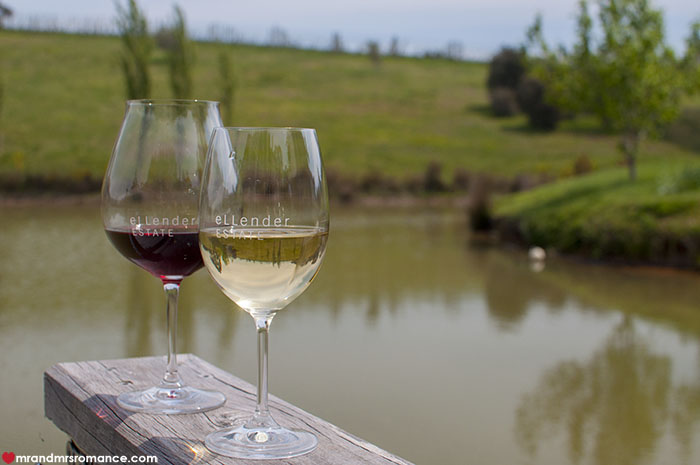 Mr and Mrs Romance - 7 reasons to visit Daylesford Victoria - Ellender winery