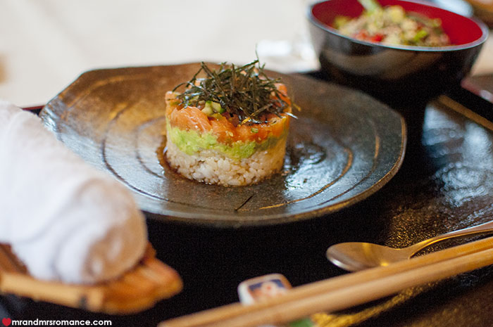 Mr and Mrs Romance - 7 reasons to visit Daylesford Victoria - dining at Shikuza Ryoken