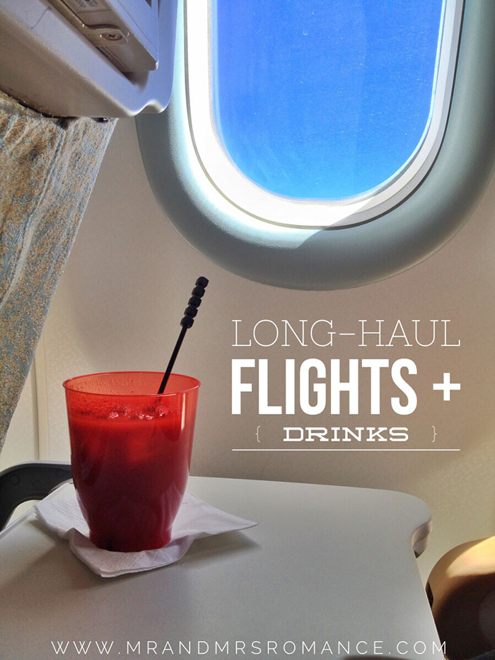 Mr and Mrs Romance - How to survive a long haul flight