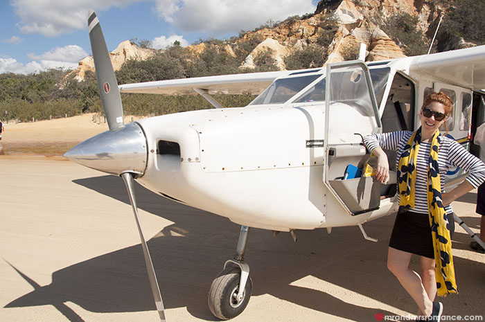 Mr and Mrs Romance - I conquered my fear of flying in small planes