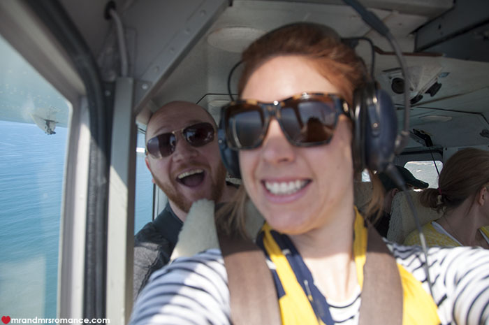 Mr and Mrs Romance - hnow happy flying in small planes