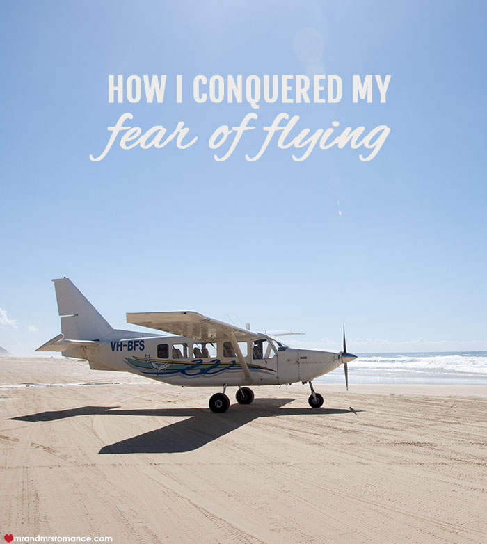 Mr and Mrs Romance - how I conquered my fear of flying in small planes