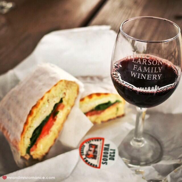 Mr & Mrs Romance - Insta Diary - 19 Sonoma wine trip