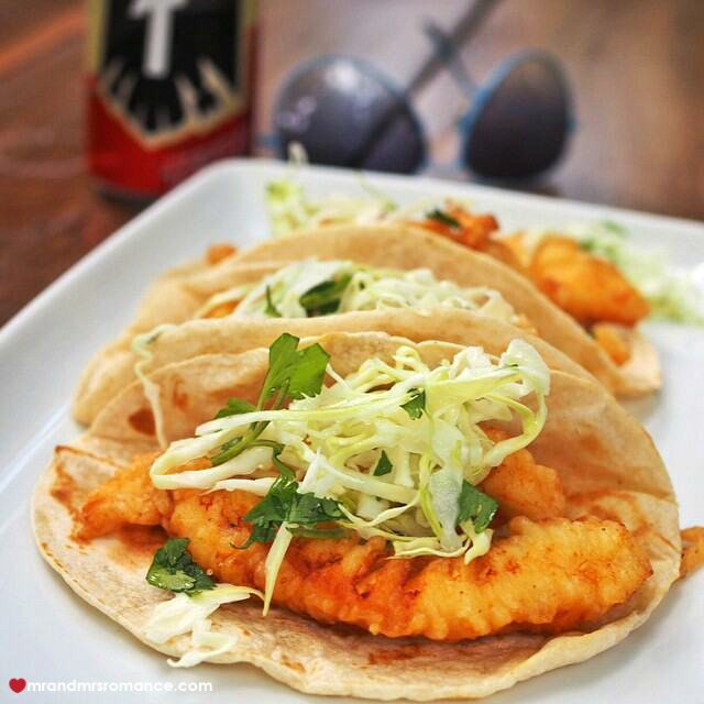 Mr & Mrs Romance - Insta Diary - 3 fish tacos