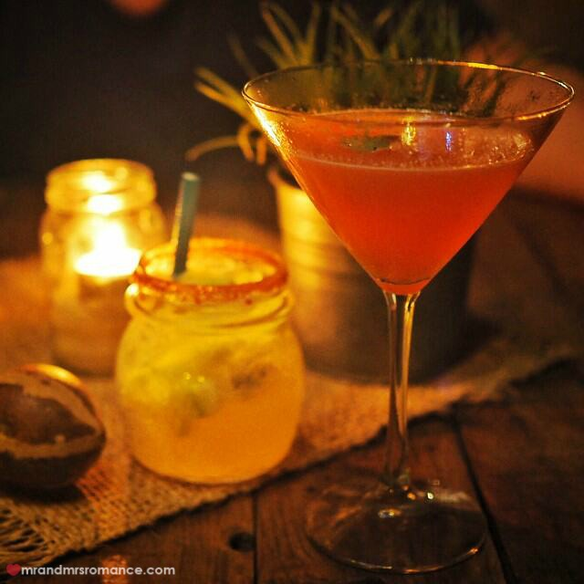 Mr & Mrs Romance - Insta Diary - 4 mezcal cocktail