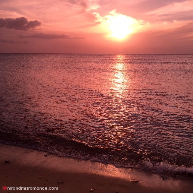 Mr & Mrs Romance - Insta Diary - 5a sunset in Trinidad