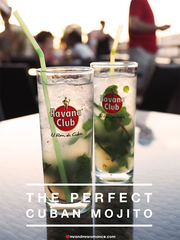Mr and Mrs Romance - The secret to the perfect Cuban Mojito