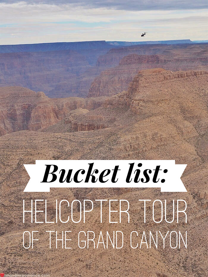 Mr & Mrs Romance - Grand Canyon heli tour - 1 title