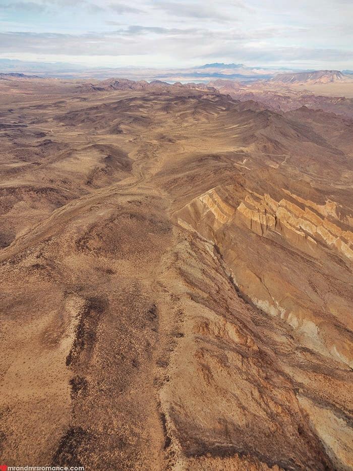 Grand Canyon heli tour - the Arizona countryside