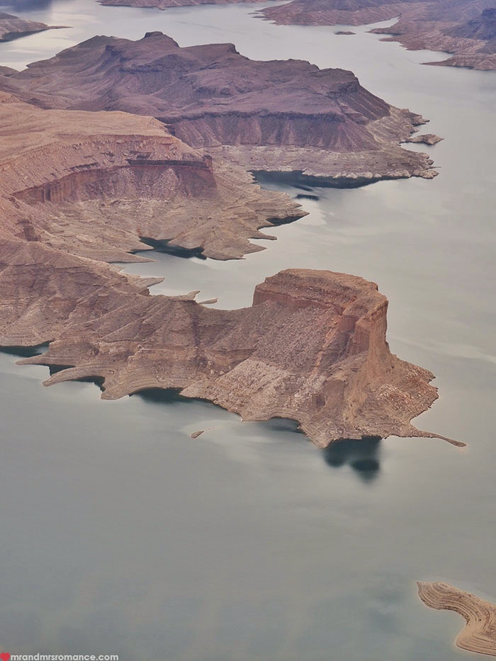 Grand Canyon heli tour - Lake Mead