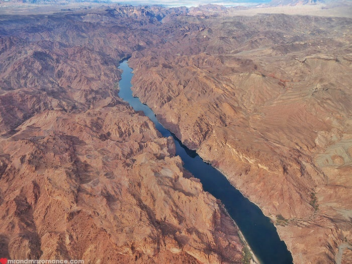 Grand Canyon heli tour - Colorado River
