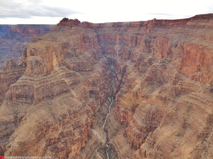 Grand Canyon heli tour - the Grand Canyon