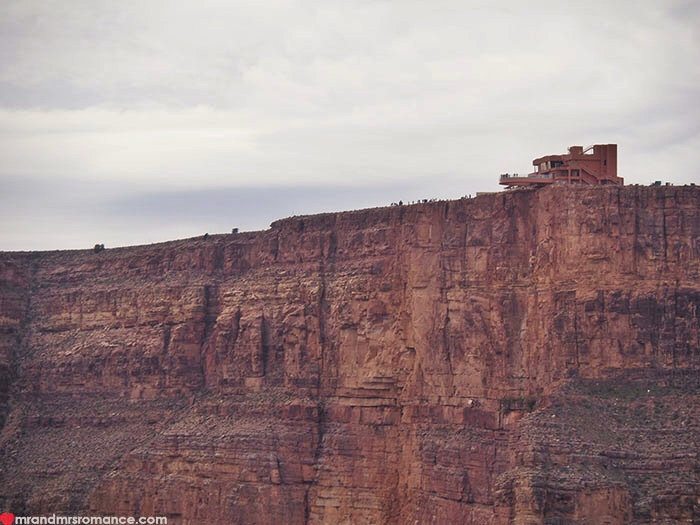 Grand Canyon heli tour - the Sky Walk