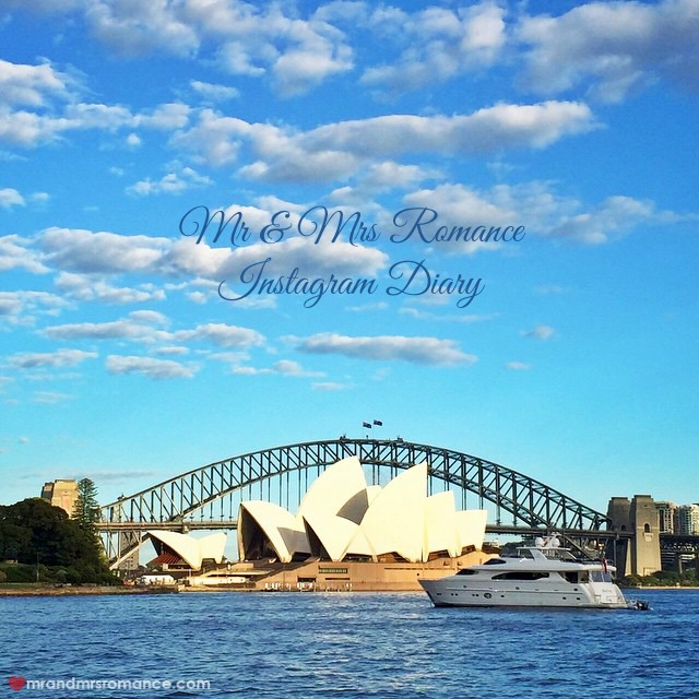 Mr & Mrs Romance - Insta Diary - 1 title Harbour view