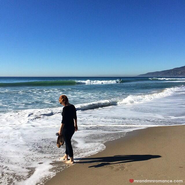 Mr & Mrs Romance - Insta Diary - 2 Mrs R in the sea