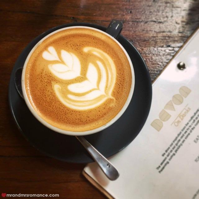 Mr & Mrs Romance - Insta Diary - 2 coffee w.Steph & likeomg at Devon Cafe
