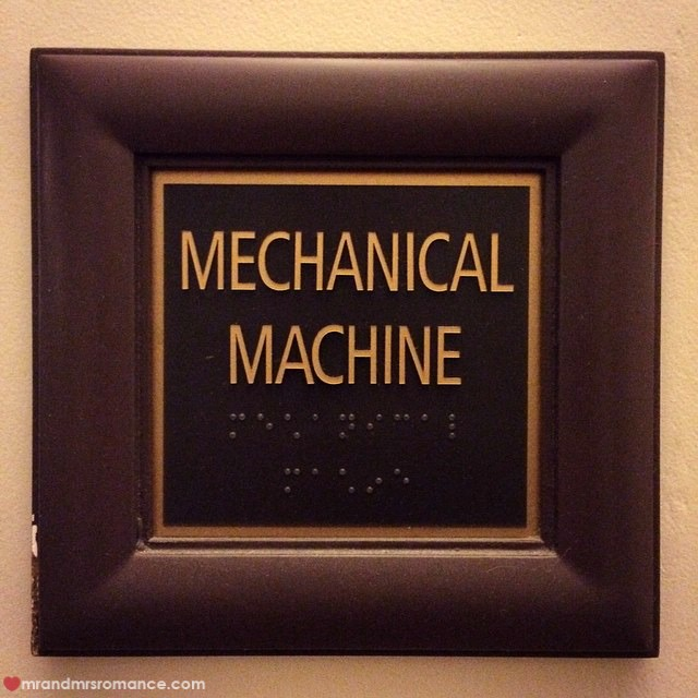 Mr & Mrs Romance - Insta Diary - 51AB1 mechanical machine