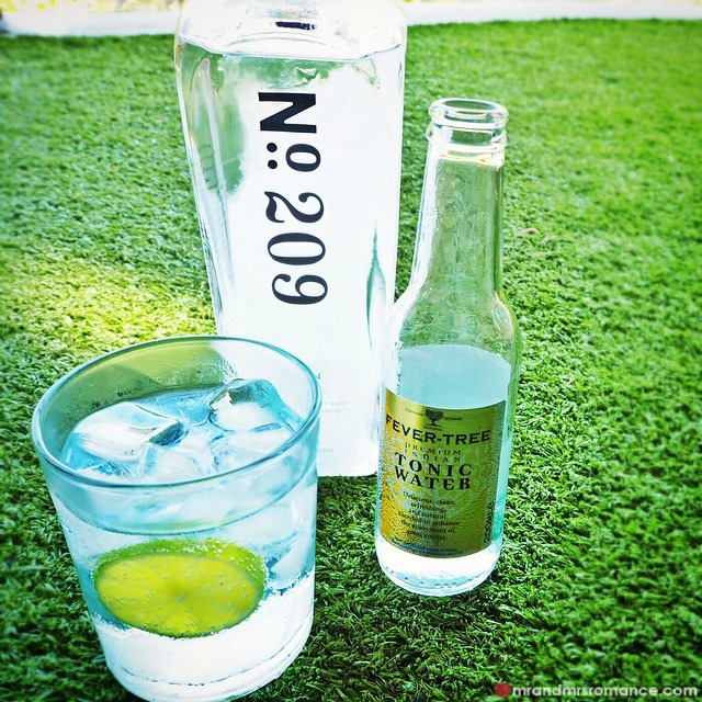 Mr & Mrs Romance - Insta Diary - 6 G & T with new gin and new tonic!