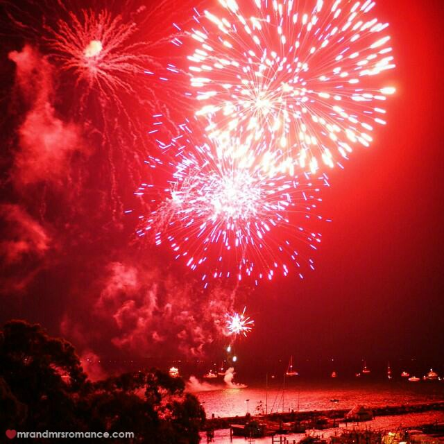 Mr & Mrs Romance - Insta Diary - 6 NYE fireworks