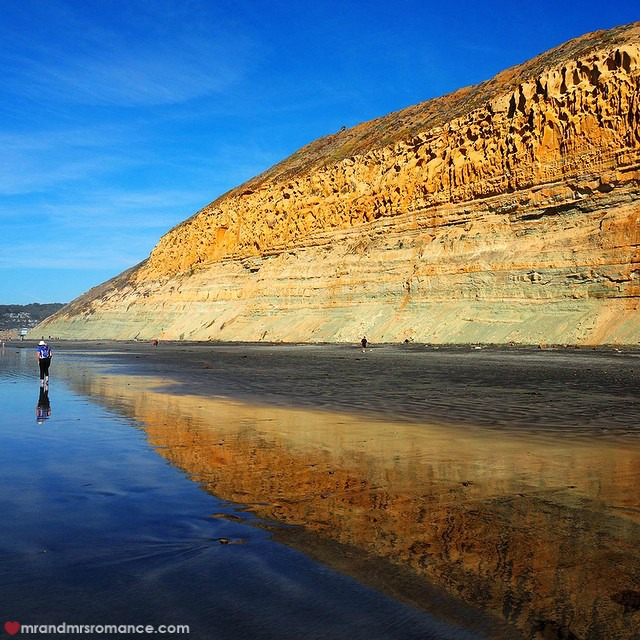 Mr & Mrs Romance - Insta Diary - 7CB4 San Diego Torrey Pines beach