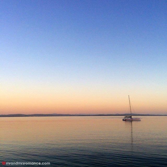 Mr & Mrs Romance - Insta Diary - 8aCB dawn over the ocean