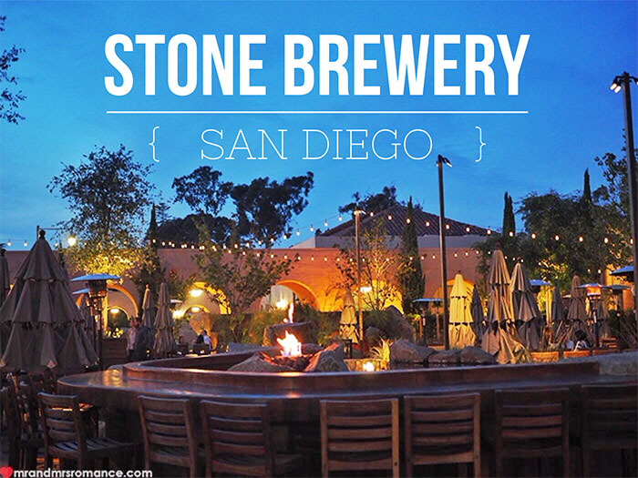 Mr and Mrs Romance - Things to do in San Diego - Stone Brewery 10