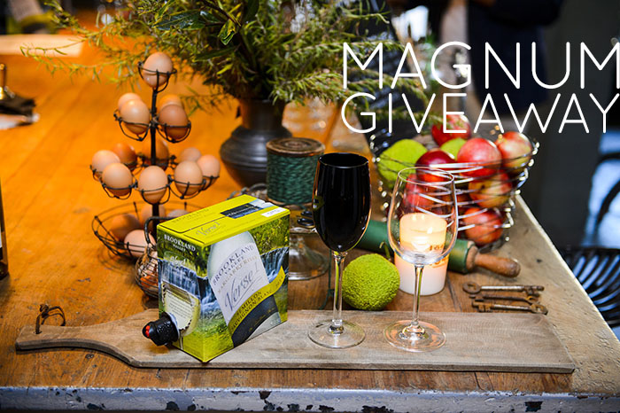 Win with Magnum Wines. Image by Dominic Loneragan.