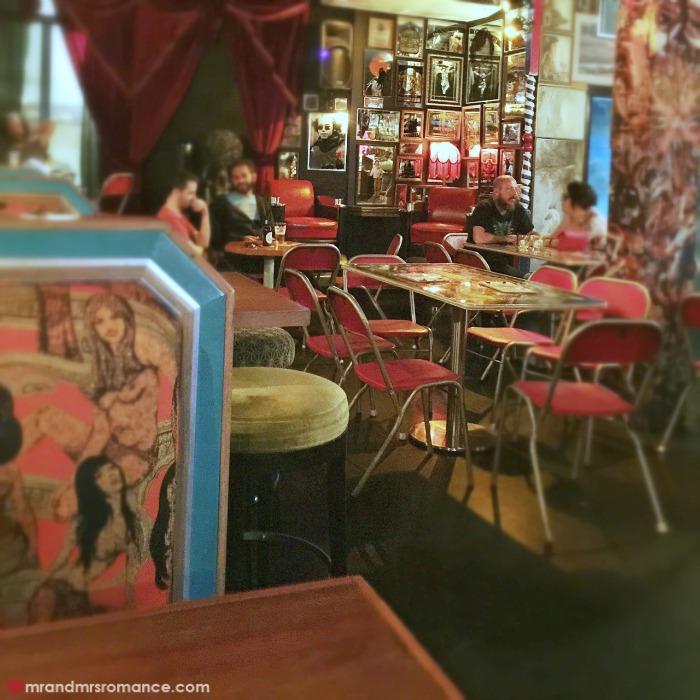 Mr & Mrs Romance - Friday Drinks - Bearded Tit main room