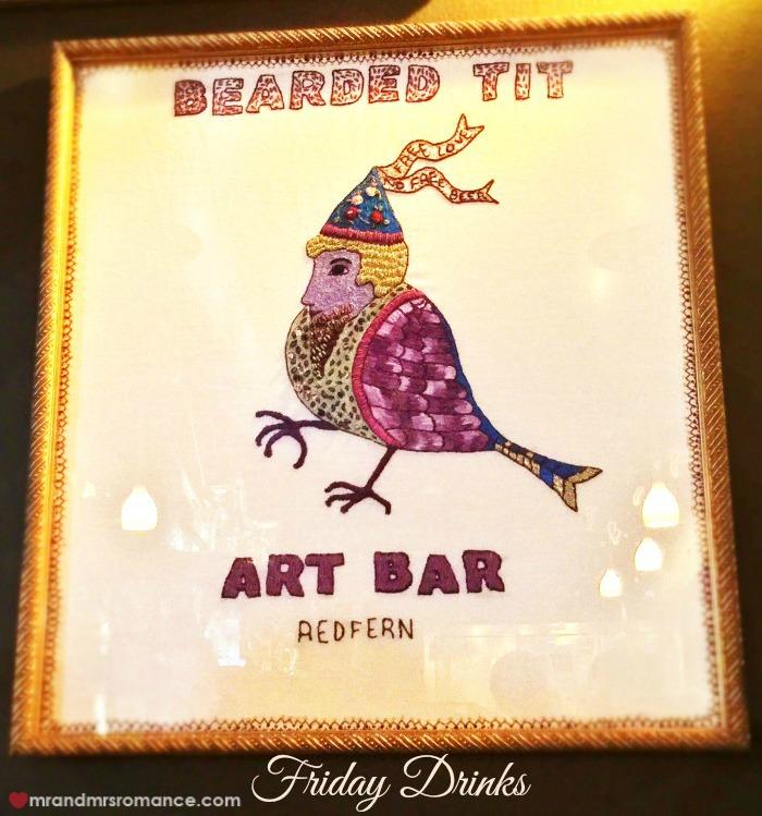 Mr & Mrs Romance - Friday Drinks - Bearded Tit title 1
