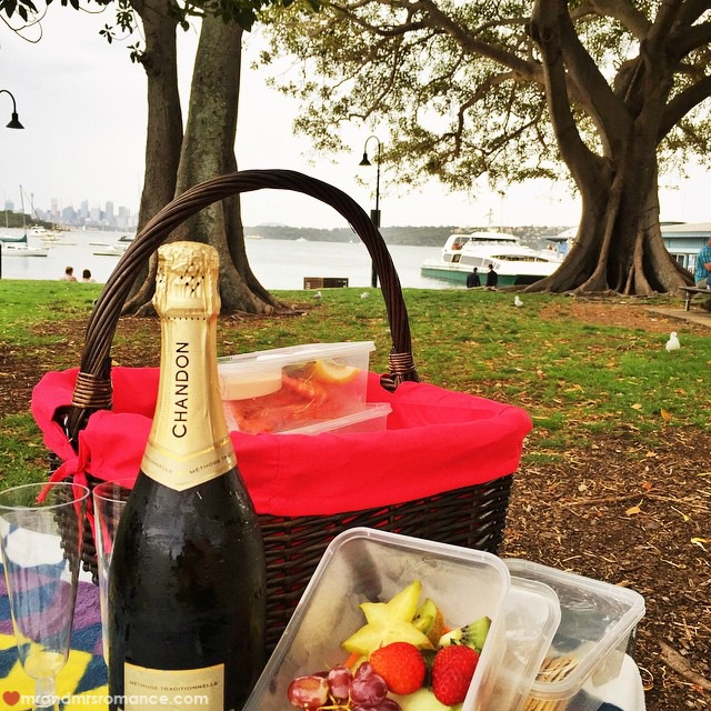 Mr & Mrs Romance - Insta Diary - 14 50 Shades of Bay picnic