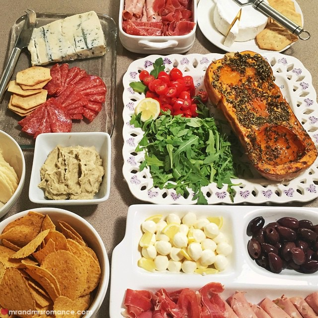 Mr & Mrs Romance - Insta Diary - 1aCB1 ladies' lunch spread