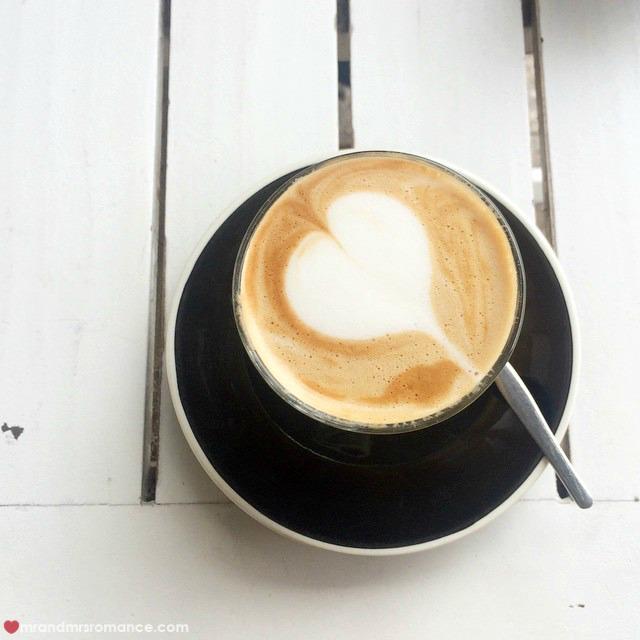 Mr & Mrs Romance - Insta Diary - 1bCB2 coffee for Mrs R