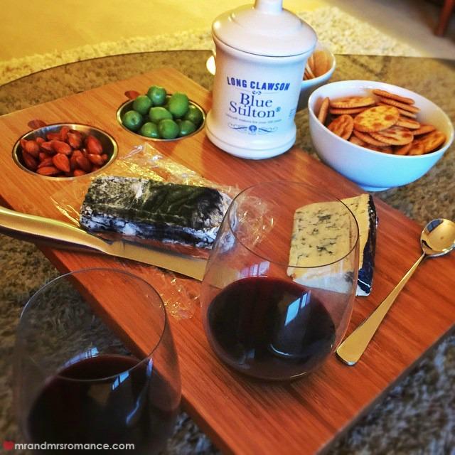 Mr & Mrs Romance - Insta Diary - 2 cheese dinner