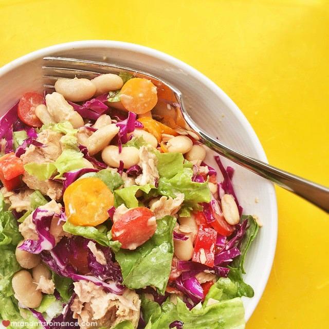 Mr & Mrs Romance - Insta Diary - 5 tasty salad