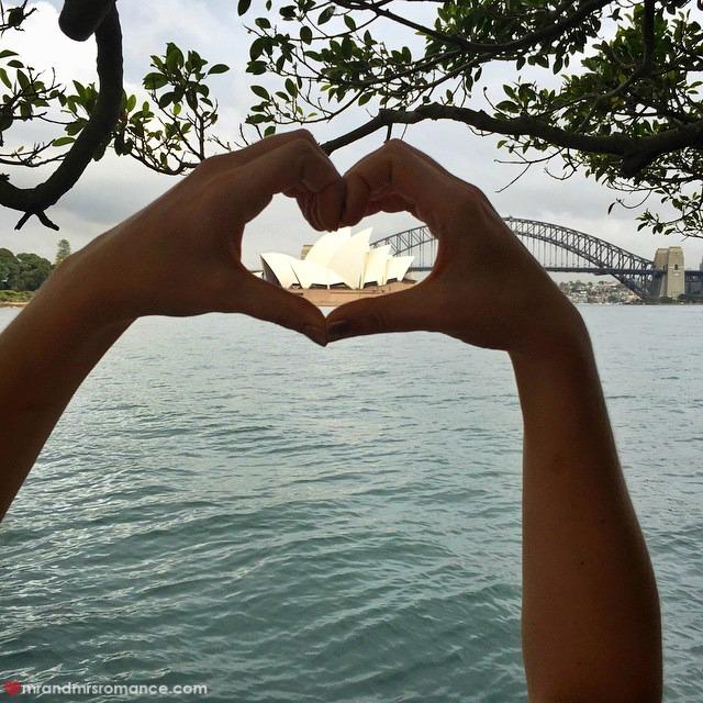 Mr & Mrs Romance - Insta Diary - 8 I heart Sydney