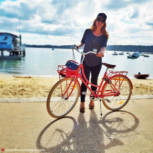 Mr & Mrs Romance Instagram Diary - 12 Lekker bikes trip to Bondi Bowls