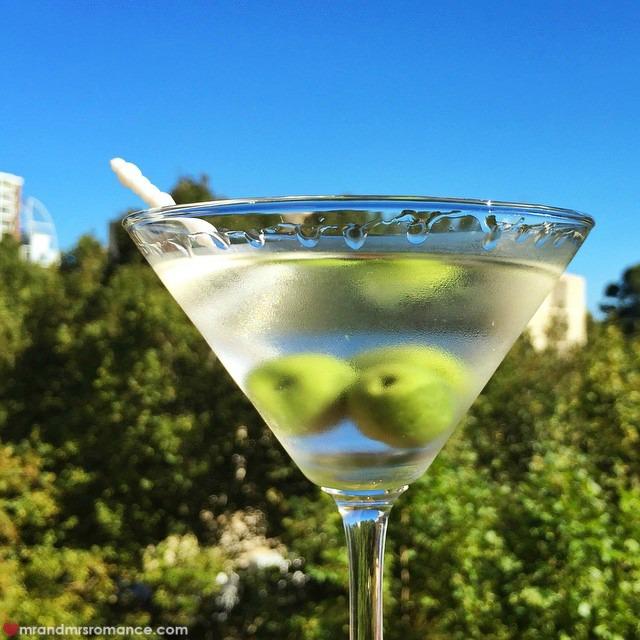 Mr & Mrs Romance Instagram Diary - 13 martini time!