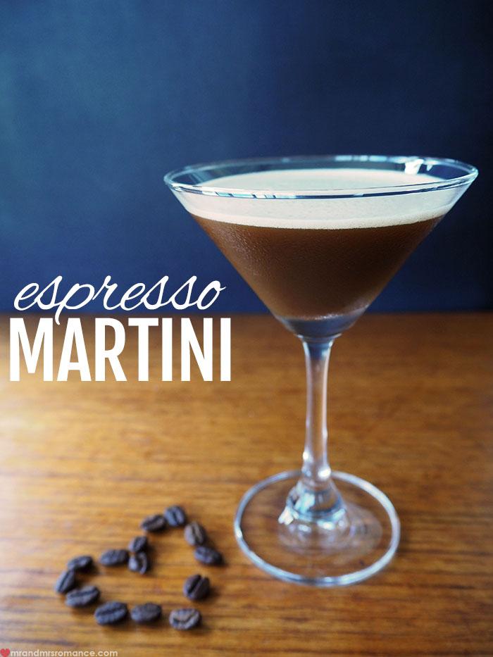 Mr and Mrs Romance - Espresso Martini cocktail recipe