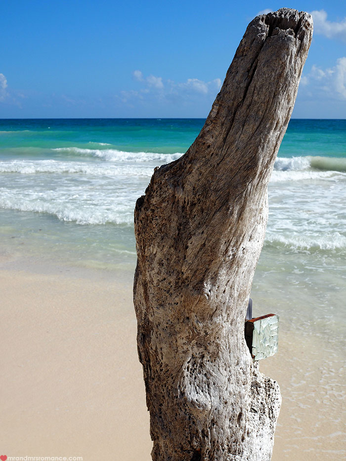 Mr and Mrs Romance - Tulum Mexico tips