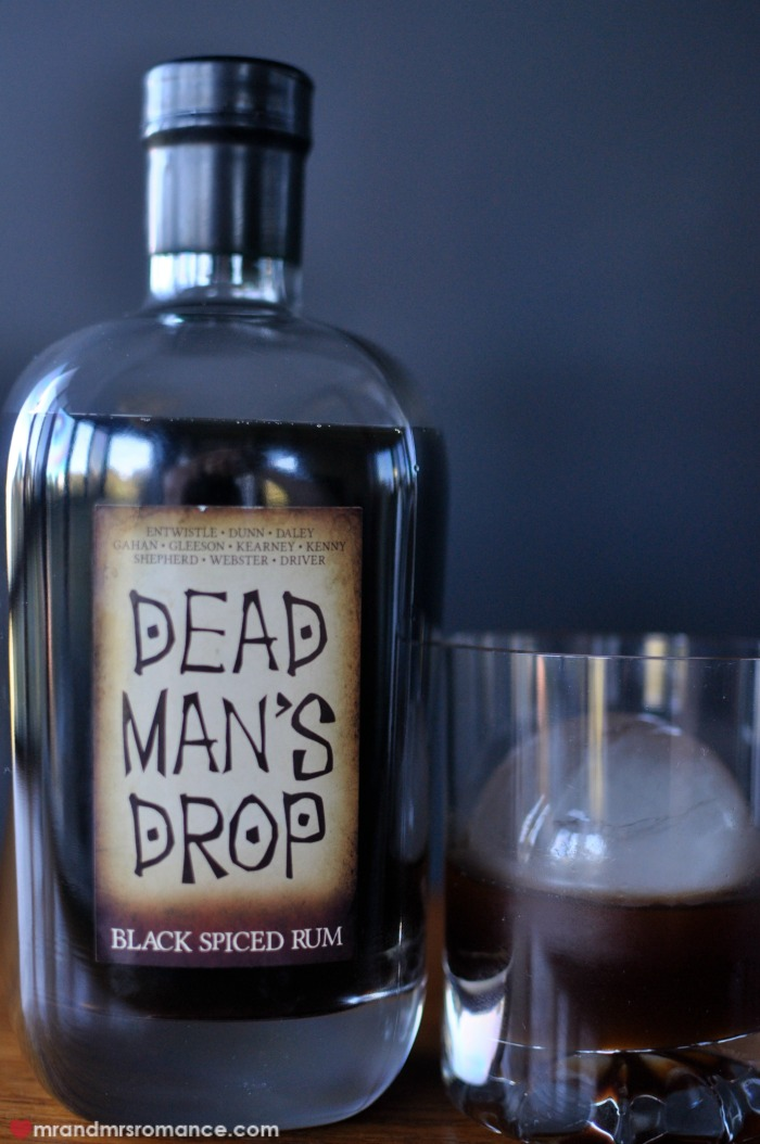 Mr & Mrs Romance - Dead Man's Drop - 3 rum and ice